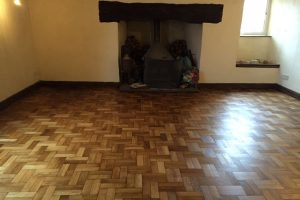 Parquet Floor Restoration – Case Study
