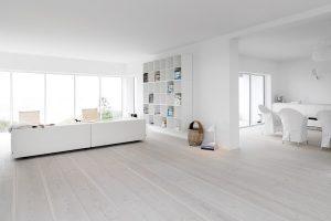 Whitewashed wood floor – How to get the Scandinavian look