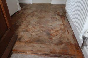 Parquet Floor Restoration in Bath – Beware the Builder