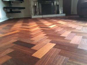 herringbone floor sanding