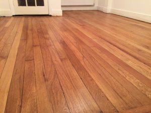 oak floor sanding in London