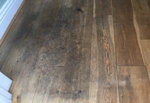 Oak Floor Maintenance – Heavy Traffic Floor