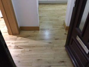 Citrus Floor Care: Oak Wood Floor Transformation