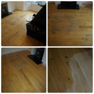 Rolin Cleaning Services Wood Floor Restoration Kent before