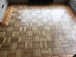 Parquet Floor: Pure Gold!