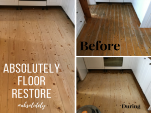 All Fine with the Pine! Pine Floor Restoration