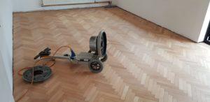 Walk in the Parquet Wood Floor Restoration
