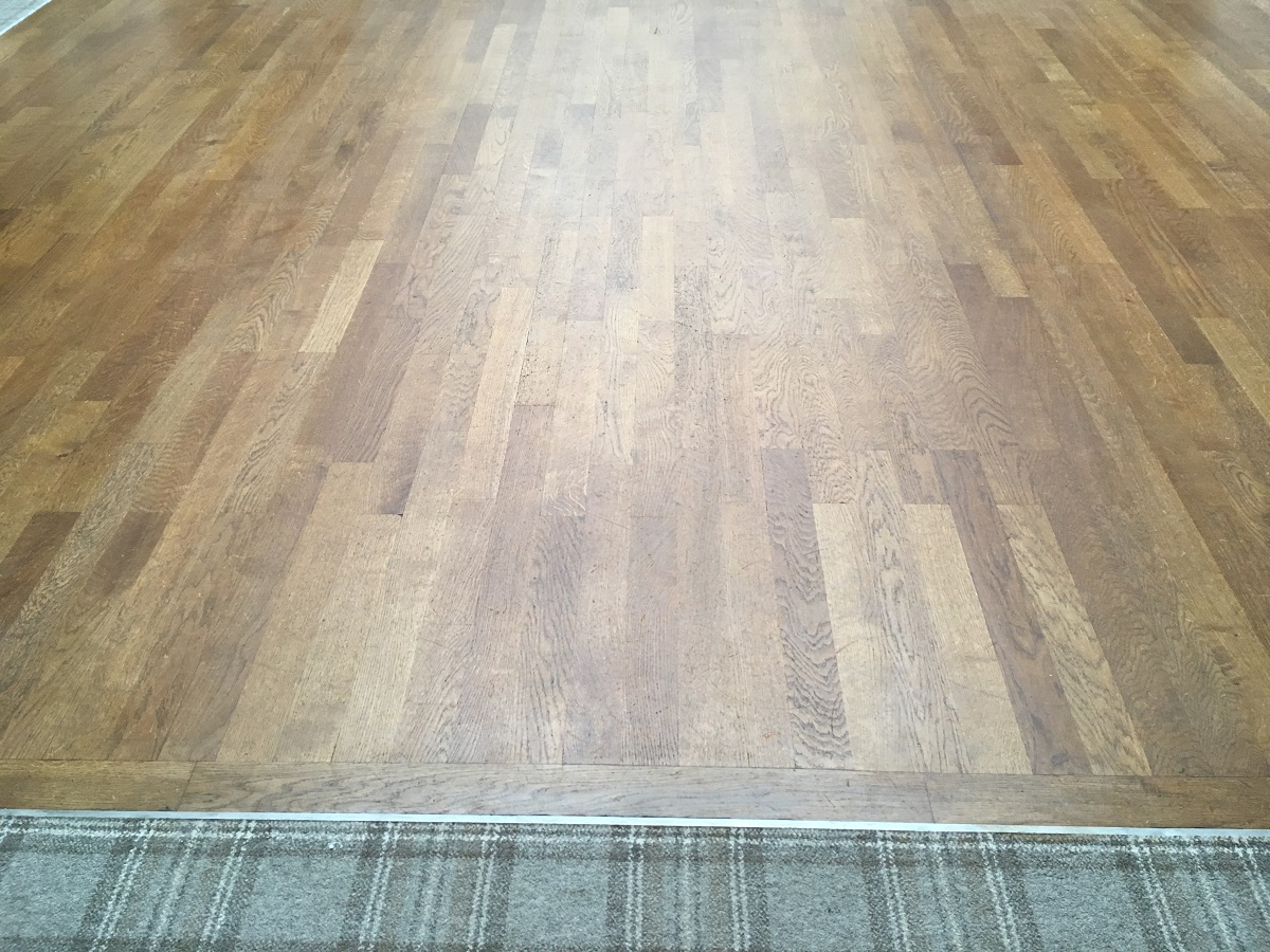 Floor Sanding in Chatham after