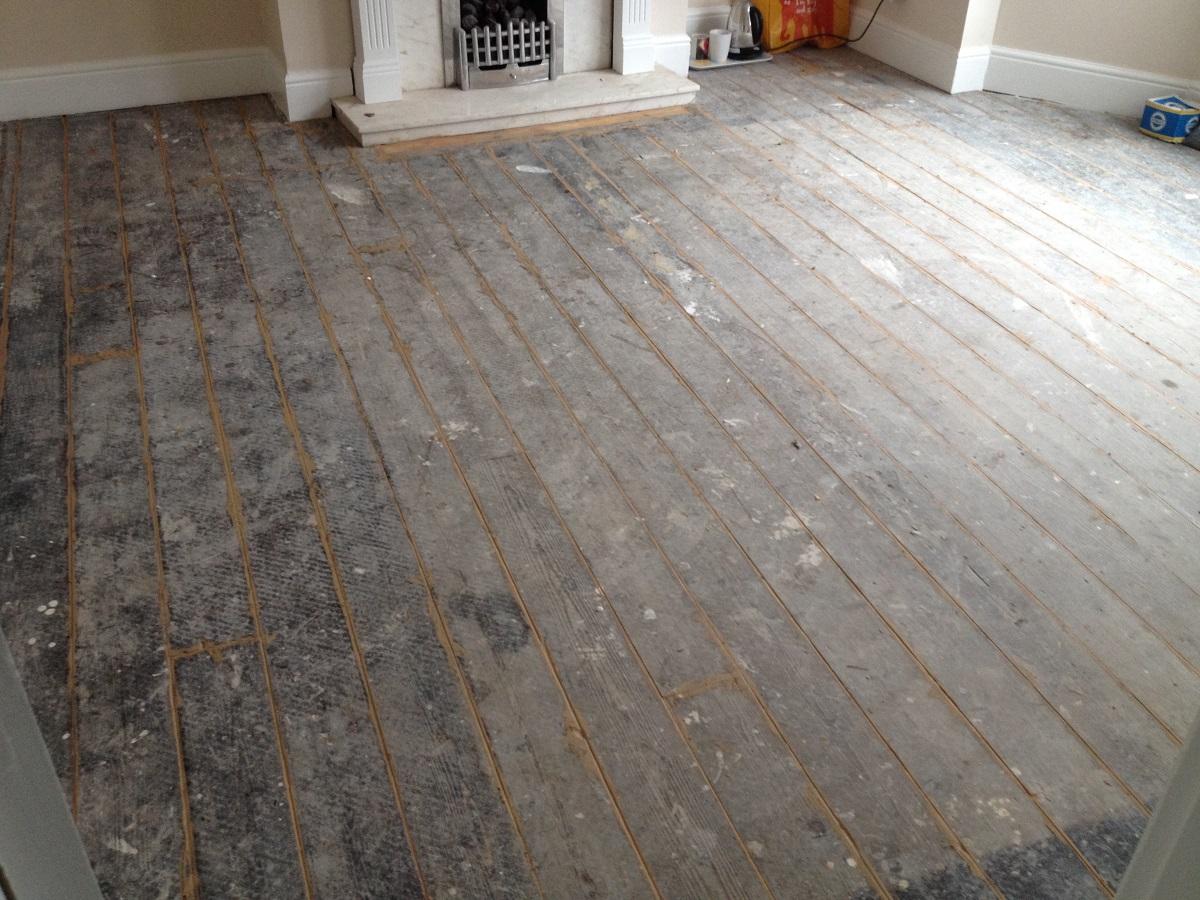 Floor Sanding in Penzance before