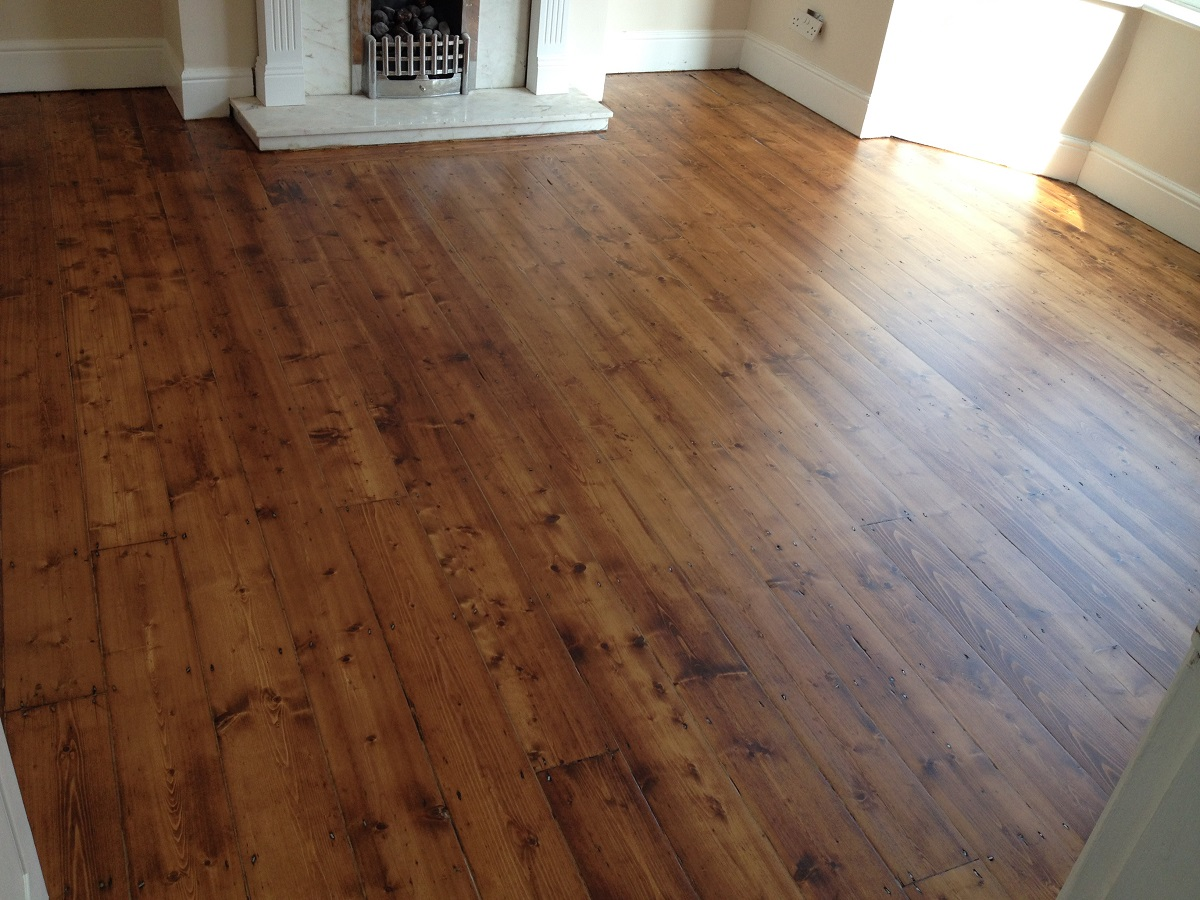 Floor Sanding in St Austell after